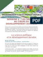 MOOC UVED EDD Transcriptions Savoirs Politique