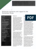 Particular concerns - Rotterdam Rules.pdf