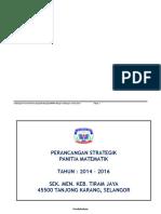 Documents.tips... Pelan Strategik Panitia Matematik Format Baru 2014