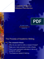 1-Introduction to Academic Writing