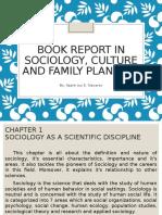 Book Report in Sociology by Apple Joy Navarez
