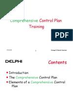Delphi Comprehensive Control Plan