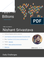Building Apps for Billions
