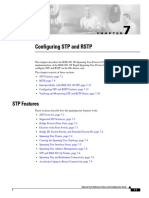 Configuring STP and RSTP