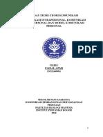 Teokom - Faisal Azmi- i352160081