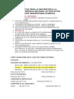 SUNEDU - Requisitos Inscripción.docx