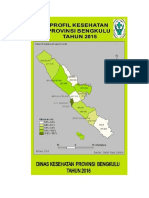 Profil Kesehatan Prov. Bengkulu 2015 PDF