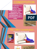 f the 1987 Constitution Preamble