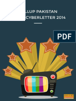Gallup Pakistan Media Cyberletter 2014