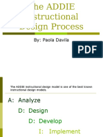 The ADDIE Instructional Design Process (2)
