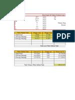 Perhitungan Volume Tangki Ballast Eko