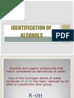 Identification of Alcohols