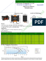 Flat Wire High Current Inductor PSPQ Series