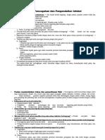 Strategi Pencegahan Dan Pengendalian Infeksi