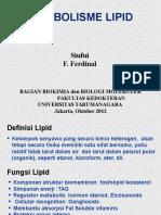 LIPID Metab 2012