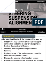 Automotive Steering Alignment ASE-A4 Suspension and Steering