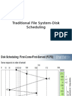 Disk Scheduling-Traditional & Multimedia