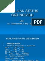Penilaian Status Gizi Individu