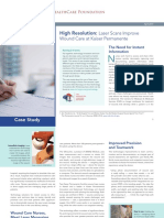Laser Scan Wound Care