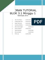 laporan tutorial minggu 1 3.1.doc