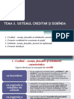 Tema 3 Creditul Dobinda