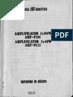 AMPLIFICATOR AHF-P201AHF-P121 I.E.I..o.pdf