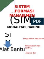 Presentasi SIM Modalitas Daring