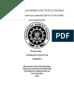 Diagram Alir Pembuatan Pupuk Phoska Tekno Polimer Dan Petrokimia