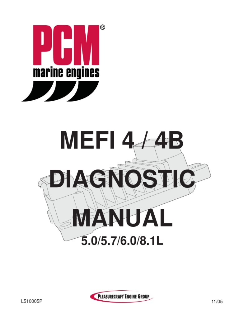 Mefi 4 & 4b Diagnostic Manual (l510005p) | Electrical Connector ...