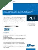 2855 10 Port Multiprotocol Muxponder