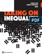 Taking on Equality - Poverty and Shared Prosperity 2016