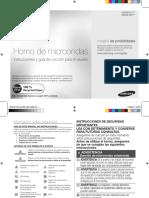 Instrucciones Microondas Samsung