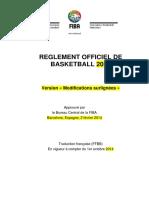 Reglement FIBA 2014