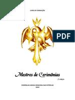 LIVRO de FORMAÇÃO. Mestres de Cerimônias. 2ª Edição