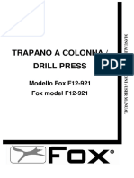 Manuale d'Uso f12-921