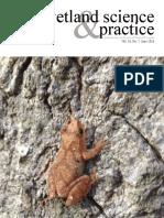 Wetland science & practice, Vol.33, No. 2, June 2016