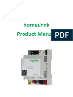 Product Manual HomeLYnk 1.2 1.0
