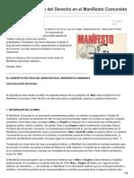 Kmarx.wordpress.com-El Concepto Político Del Derecho en El ManifiestoComunista
