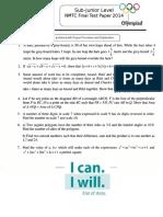 NMTC Final Paper 2014 Std7 8