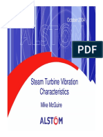 Steam Turbine Vibration Characteristics
