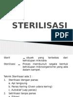 3. Sterilisasi