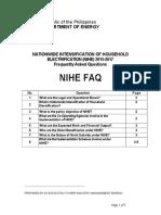 2016 NIHE FAQ