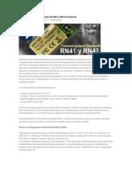 Trabajando Con Módulos Bluetooth RN41 y RN42 en Android
