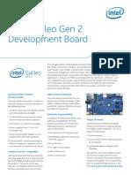 Intel® Galileo Gen 2 Development Board- Datasheet.pdf