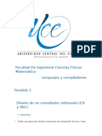 Manual de Usuario LEX y YACC1111