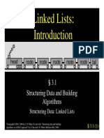 3.1 - Linked List Intro