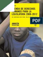 ESPAÑA_ AGENDA DE DERECHOS HUMANOS PARA LA LEGISLATURA 2008-2012.pdf