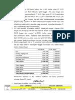 Contoh Soal Cost Method Dan Equity Method (Soal dan Jawaban)