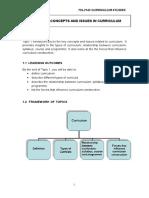 Ppg Module Curriculum Studies