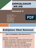 Kebijakan Obat Nasional.PPT